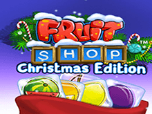 Игровой автомат Фруктовый Магазин: Рождественское Издание